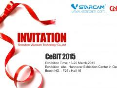 VStarcam CeBIT 2015 Invitation