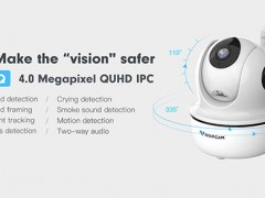 VStarcom 4.0MP full HD WiFi cameras, give you a blockbuster-like experience