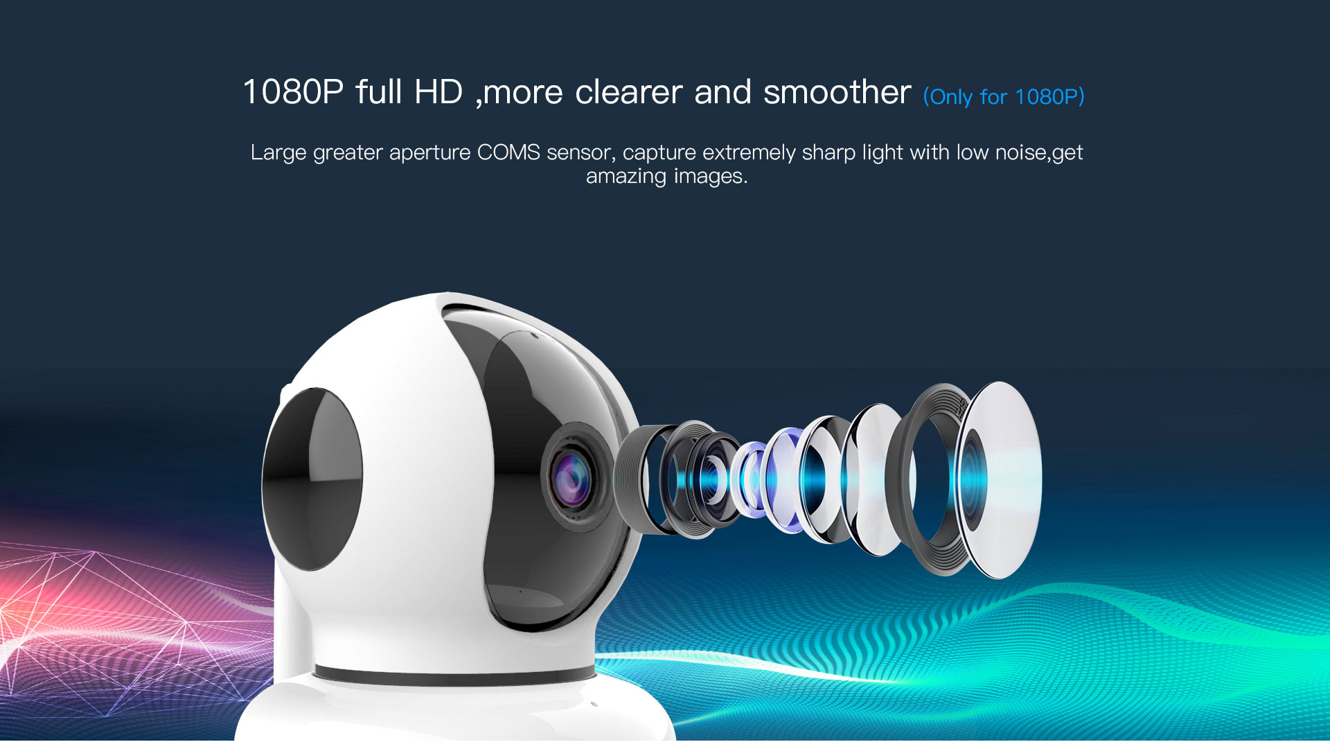 Wireless Indoor IP Camera