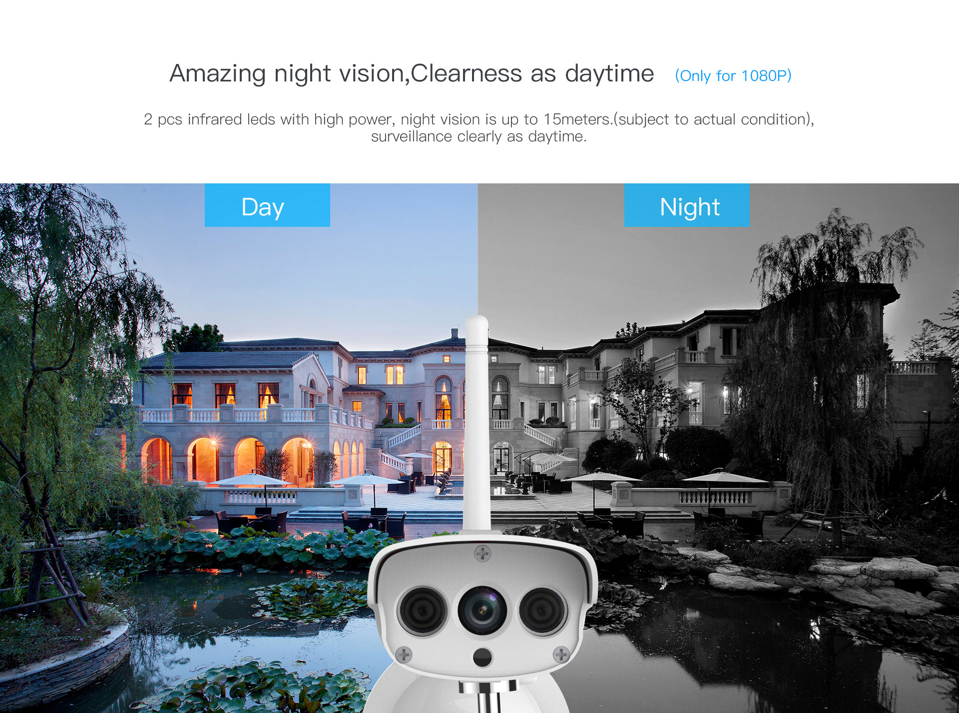 outdoor ip camera with night vision