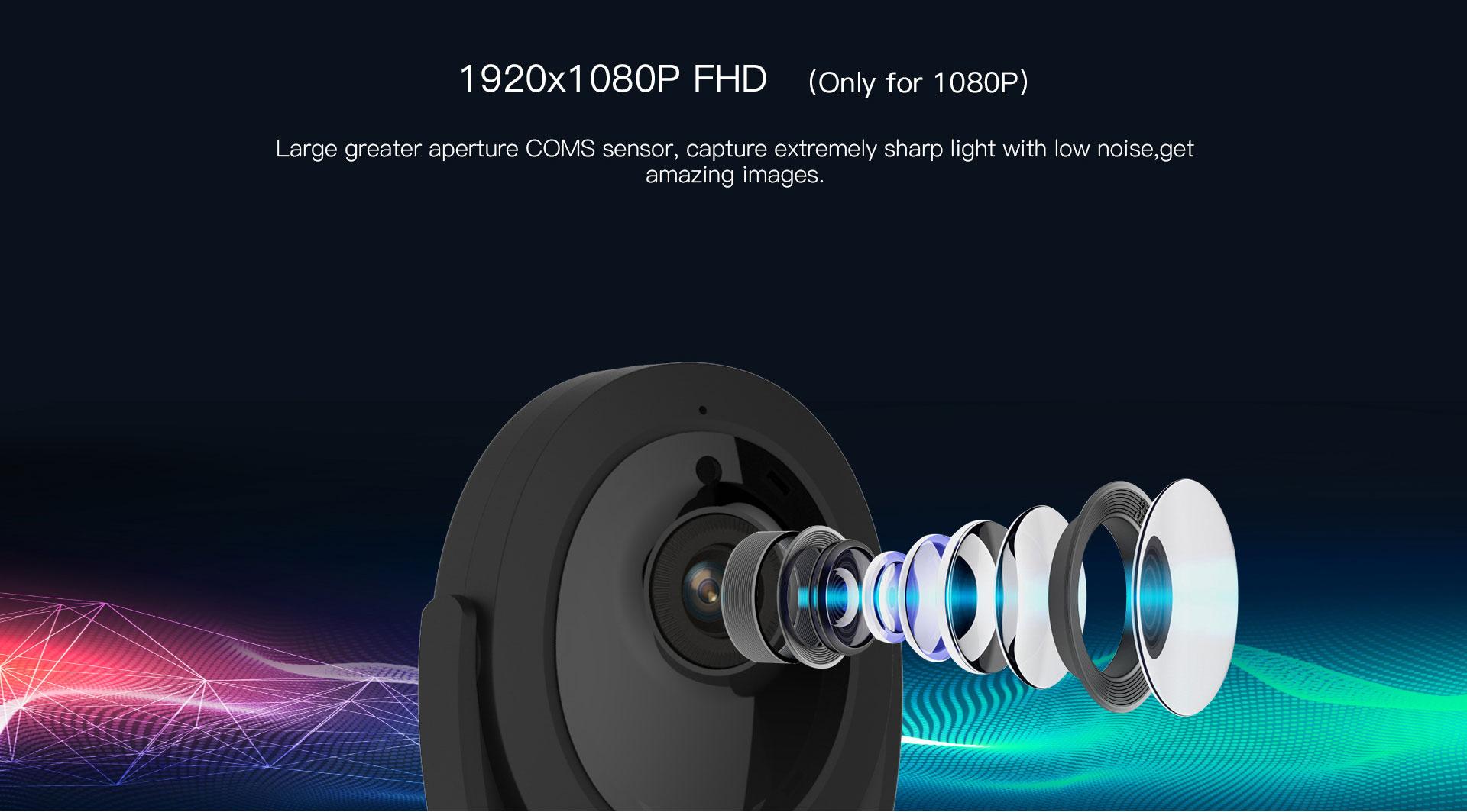 1080p cube camera