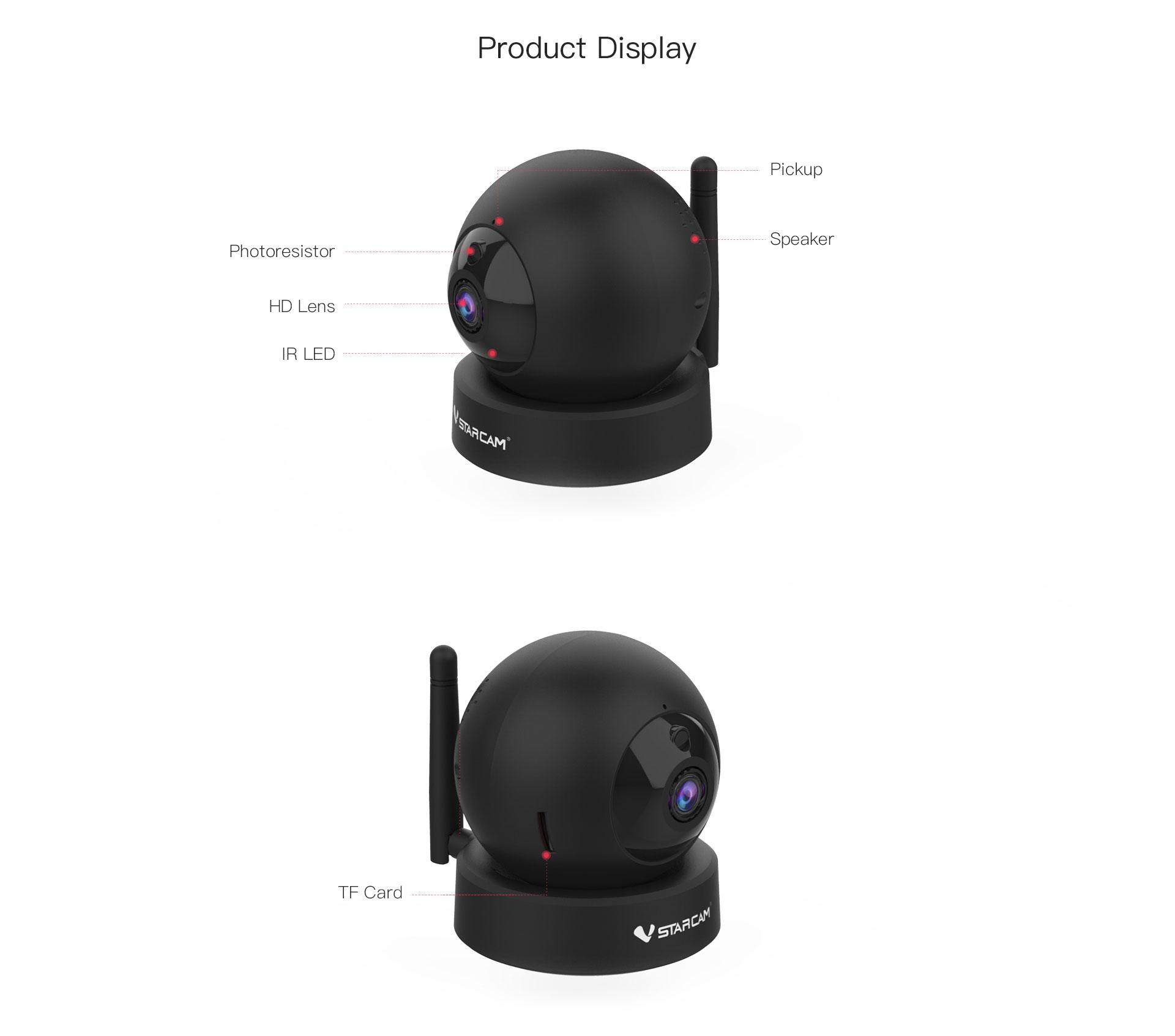 WiFi security camera